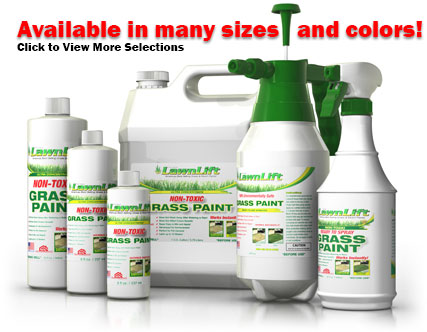LawnLift is America's best selling Grass Paint